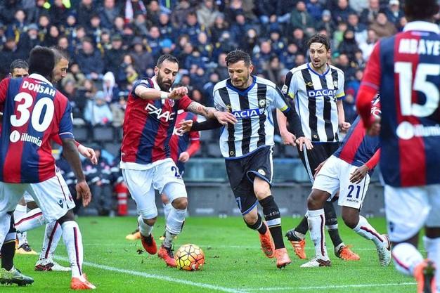 Tip bóng đá trận Bologna vs Udinese – 21h00 - 22/02/2020 – Giải VĐQG Ý