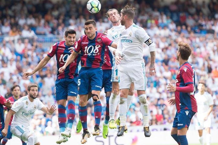 Tip bóng đá trận Levante vs Real Madrid – 03h00 - 23/02/2020 – Giải VĐQG Tây Ban Nha