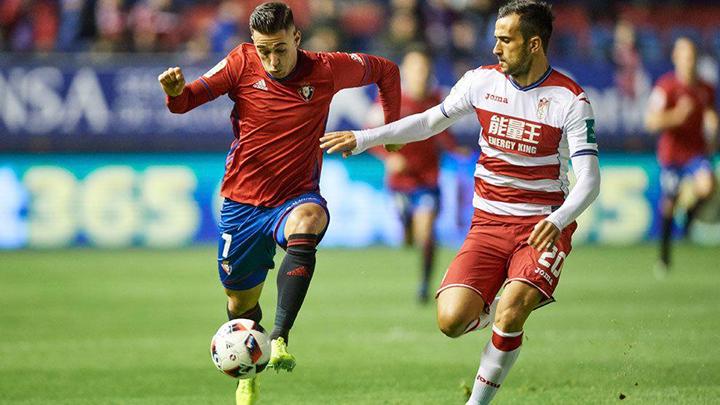 Tip bóng đá trận Osasuna vs Granada – 18h00 - 23/02/2020 – Giải VĐQG Tây Ban Nha