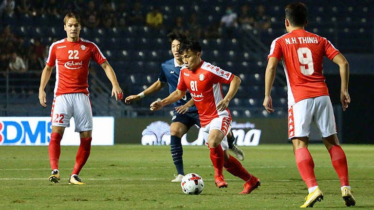 Tip bóng đá trận Hougang United vs TP.HCM – 18h30 - 25/02/2020 – Vòng bảng AFC Cup