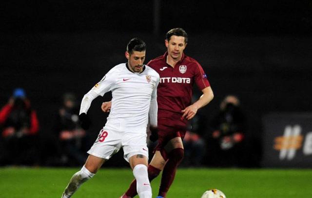 Tip bóng đá trận Sevilla vs CFR Cluj – 03h00 - 28/02/2020 – UEFA Europa League