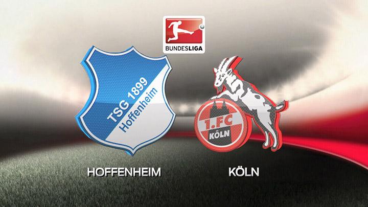 Soi kèo bóng đá 1899 Hoffenheim vs FC Koln – 01h30 - 28/05/2020 – Giải VĐQG Đức