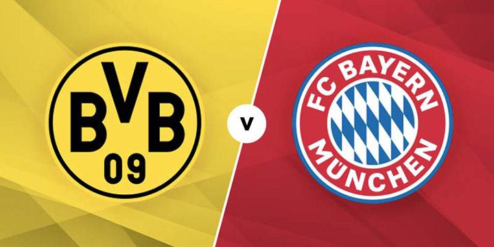 Soi kèo bóng đá Dortmund vs Bayern Munich – 23h30 - 26/05/2020 – Giải VĐQG Đức