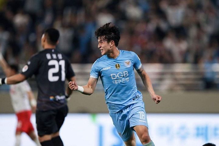 Tip bóng đá trận Daegu FC vs Sangju Sangmu FC – 17h30 - 29/05/2020 – Giải VĐQG Hàn Quốc