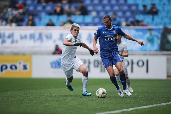 Tip bóng đá trận Suwon City FC vs Gyeongnam FC – 17h30 - 27/05/2020 – Giải Hạng 2 Hàn Quốc