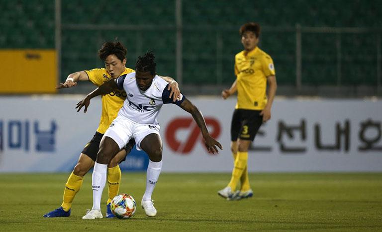 Tip bóng đá trận Asan Mugunghwa vs Seoul E-Land FC – 16h30 - 31/05/2020 – Giải Hạng 2 Hàn Quốc