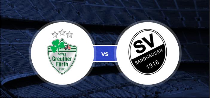 Soi kèo bóng đá SpVgg Greuther Furth vs SV Sandhausen – 23h30 - 05/06/2020 – Giải Hạng 2 Đức