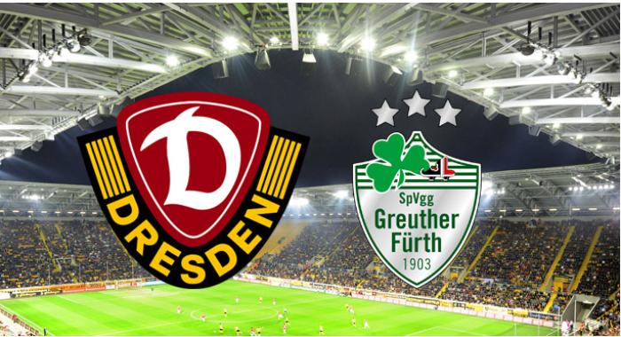Soi kèo bóng đá Dynamo Dresden vs SpVgg Greuther Furth – 23h30 - 09/06/2020 – Giải Hạng 2 Đức